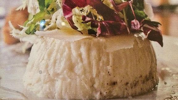 Chef Kevin Johnson reviews Cauliflower sformatino at