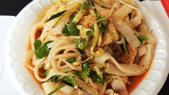 Liang Pi Cold Skin Noodles at Xi'an Famous Foods
