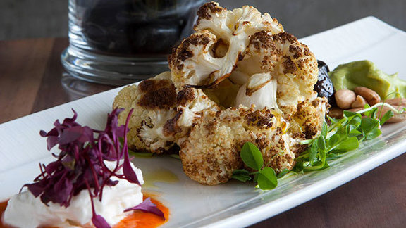 Roasted cauliflower at Etch