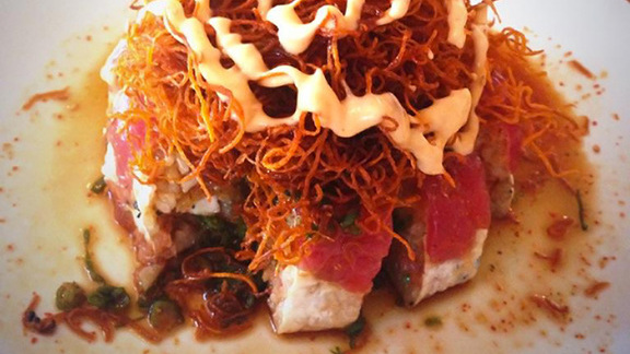 Chef Catherine Pawelek reviews T.N.T roll at
