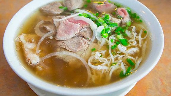 #6 Phở tái, nạm, gân at Pho Hung