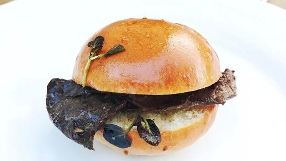 Ox heart sandwich at St. John Bar and Restaurant