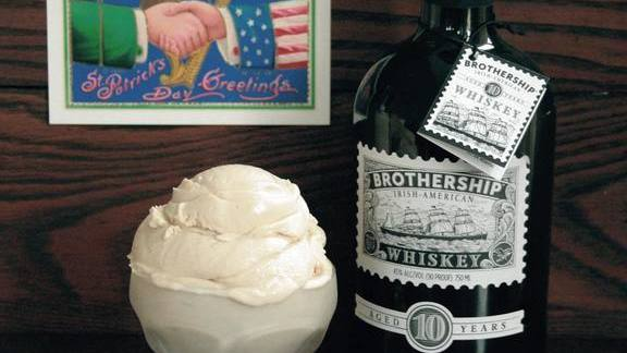 Irish-American whiskey ice cream at The Franklin Fountain