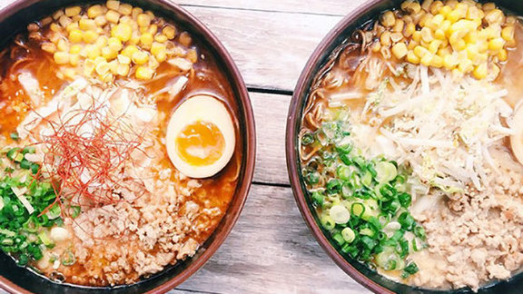 Chef Katherine Clapner reviews Mi-So-Hot ramen at Ramen Tatsu-ya