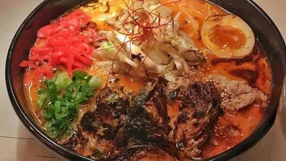 Mi-So-Hot ramen at Ramen Tatsu-ya