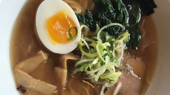 Chef Patrick McKee reviews Ramen Shoyu Broth at