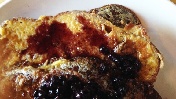 Challah French Toast at Chew