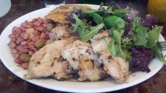 POLLO AL HORNO at Sol Food Puerto Rican Cuisine