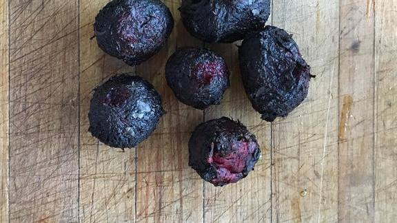 Chef Trevor Bird reviews Charred beets at Fable