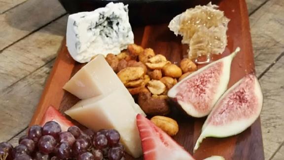 Cheese board at Panama 66