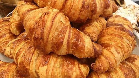 Croissants at Flour Bakery + Cafe