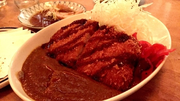 Japanese curry + Pork tonkatsu. at Imanishi Japanese Kitchen