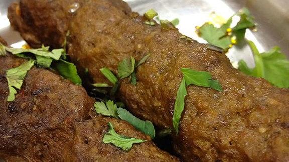 Seekh kababs at Al Markaz Restaurant
