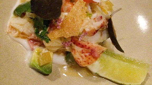 Lobster ceviche at 1760