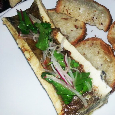 Roasted bone marrow at The Cannibal Beer & Butcher