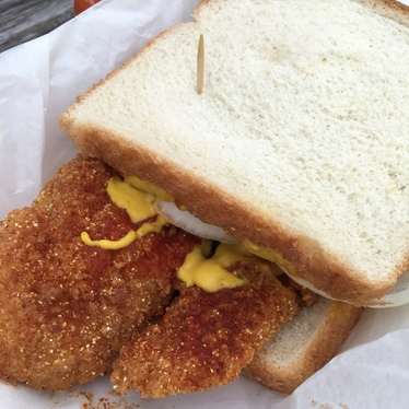 Catfish Sandwich at Bolton's Spicy Chicken & Fish