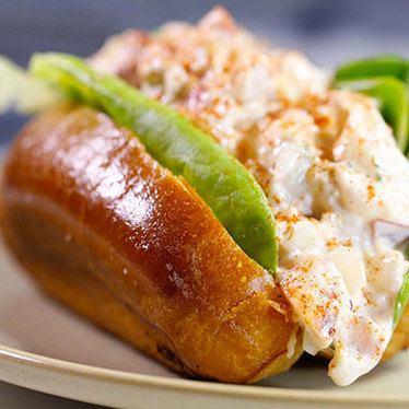 New England lobster roll at Stoic & Genuine