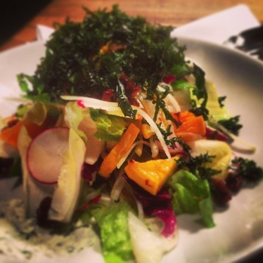 Butternut squash and kale salad at Ruby Watch Co.