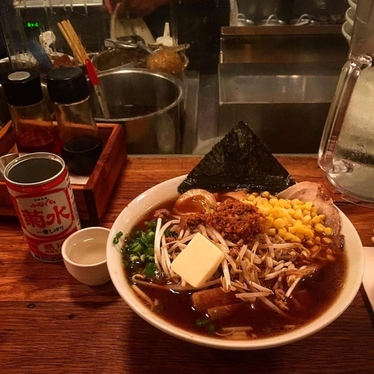 Nothing better the Shoyu ramen with some extras! at Daikaya