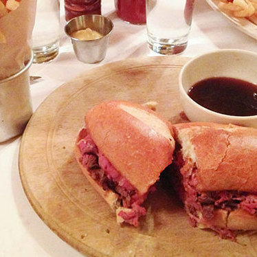 Minetta French dip at Minetta Tavern
