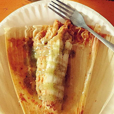 Tamales at Mas Tacos Por Favor