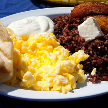 Desayuno Salvadoreño at Mestizo Restaurant