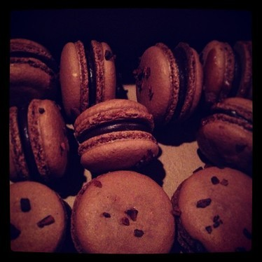 Coffee macaroons  at Cafe Momentum