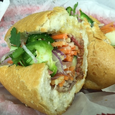 Banh Mi Dac Biet at Mr. Bubbles Sandwich House