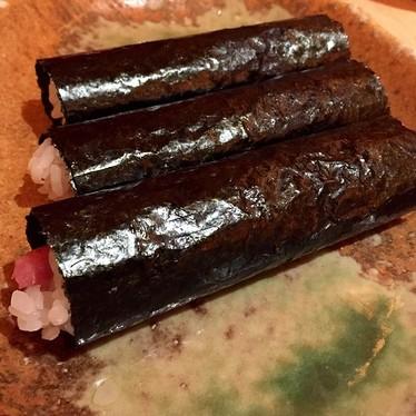 Hand rolls at Sushi Yasuda