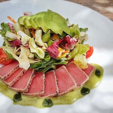 Yellowfin tuna salad, avocado at JOEY Bentall One