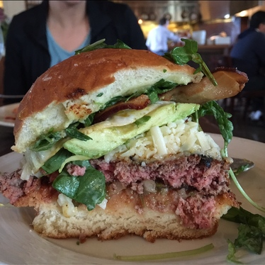 Farmstead Burger at Farmstead at Long Meadow Ranch