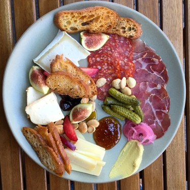 Chef's Selection Charcuterie & Cheese Plate at West Coast Wine and Cheese