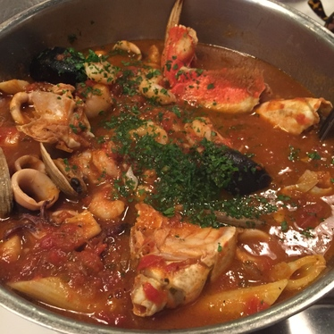 Cioppino at Sotto Mare Oysteria and Seafood Restaurant