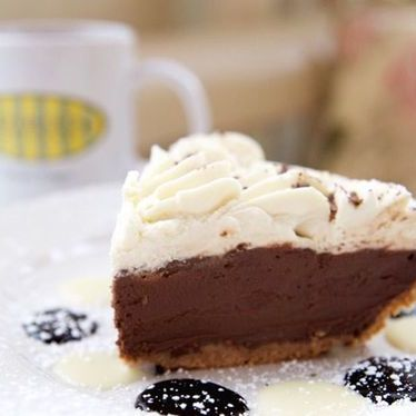 Chocolate cream pie at Mother's Bistro & Bar