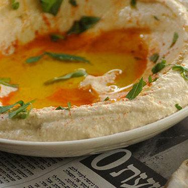 Hummus-tehina at Zahav