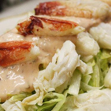Crab salad at Swan Oyster Depot
