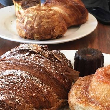 Croissants and cannele at Tartine Bakery