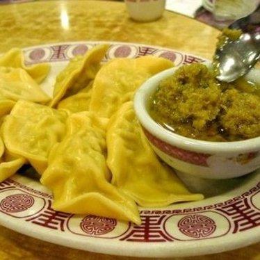 Steamed & fried dumplings at David's Mai Lai Wah Chinese