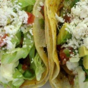 Tacos al pastor at Los Gallos