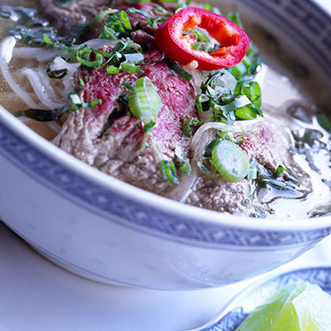 Phở at Le Colonial