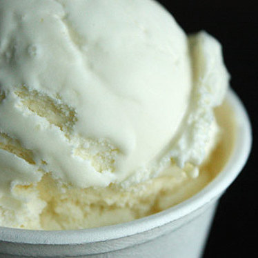 Buttermilk lemon ice cream at Mr. and Mrs. Miscellaneous