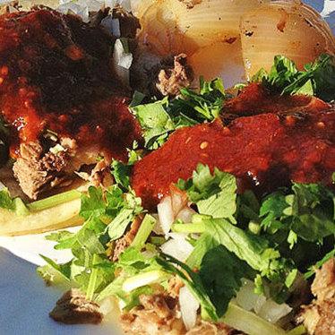 Tacos at Taqueria Vallarta