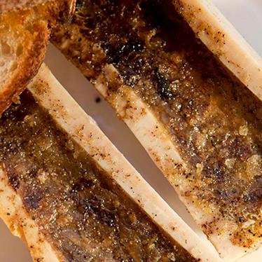 Bone marrow at Pizzeria Mozza