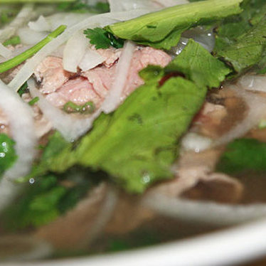 Phở tái gầu gân (#13) at Pho Danh House of Noodle