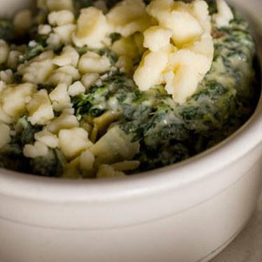Spinach & artichoke dip at Bartlett's
