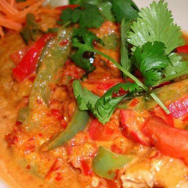 Chuu chee at Titaya's Thai Cuisine
