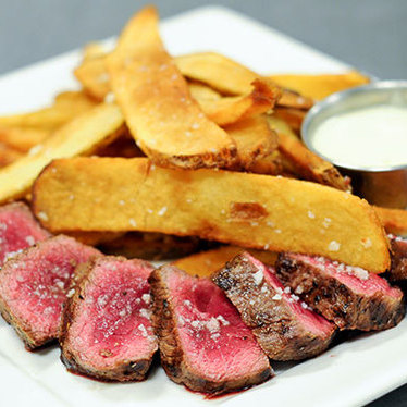 Bar steak at Black Star Co-op Pub & Brewery