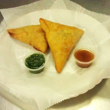 Samosas at Ken's Donuts