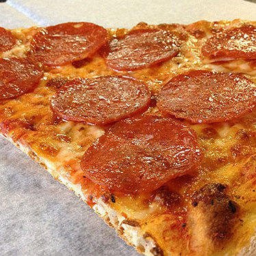 Pepperoni pizza at Arinell Pizza