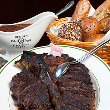 Steak for two at Peter Luger Steak House